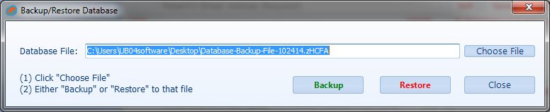 Move & Backup Your HCFA1500 and UB04 Medical Claims Software